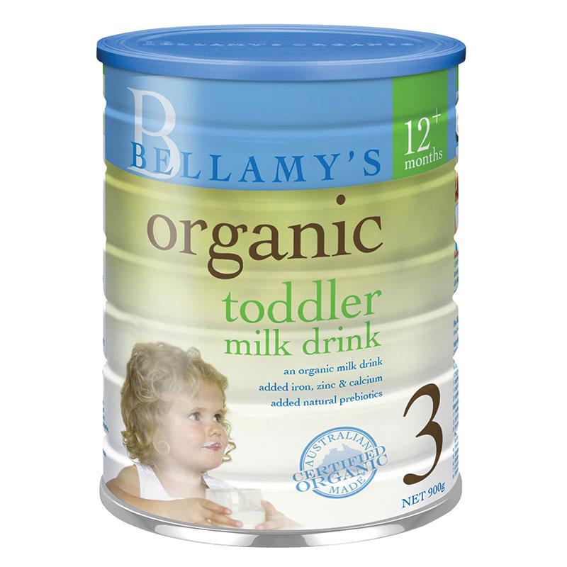 Sữa Bellamy's Organic Toddler Số 3