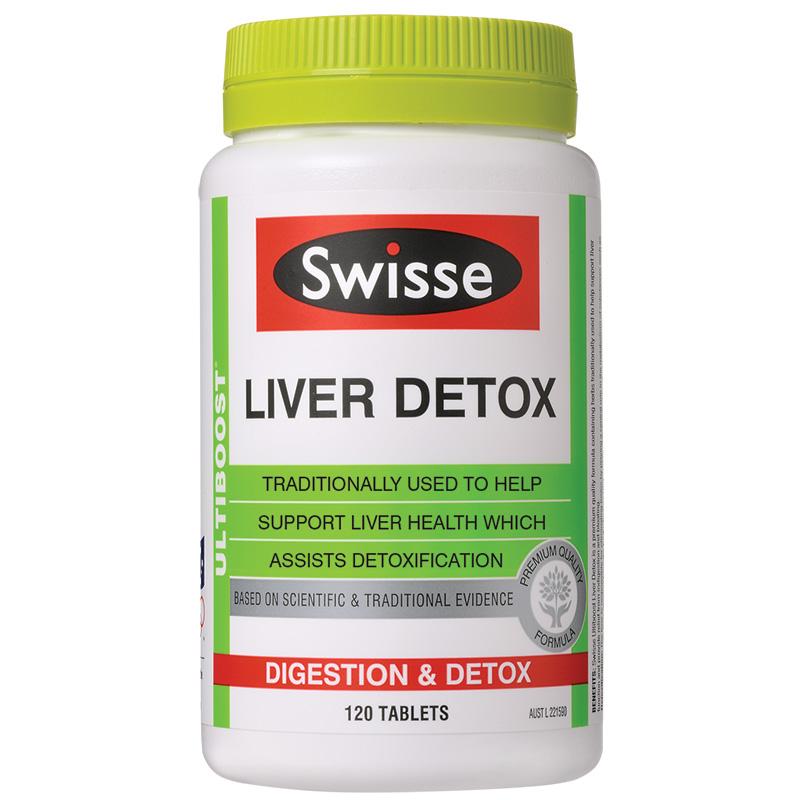 Giải Độc Gan Swisse Liver Detox