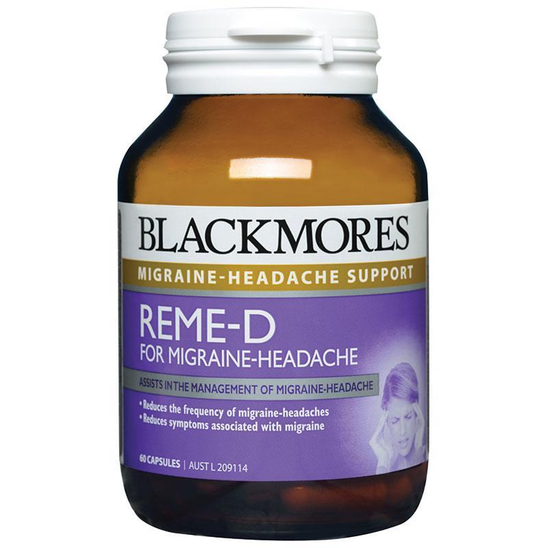 Trị đau đầu, đau rối loạn tiền đình Blackmore REME-D