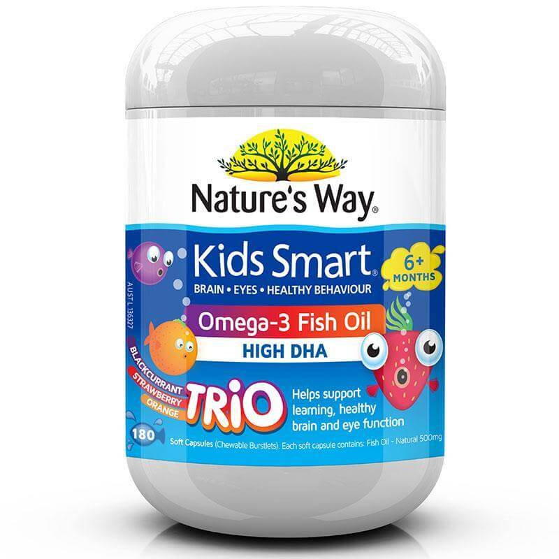 NATURE'S WAY OMEGA 3 FISH OIL TRIO