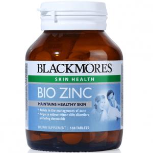 Viên uống bổ sung kẽm tự nhiên Blackmores Bio Zinc - 168 viên