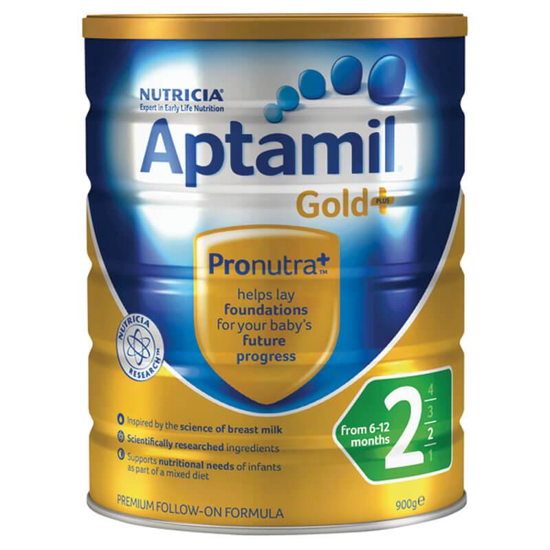 Sữa Aptamil Gold Plus Số 2 - 900g