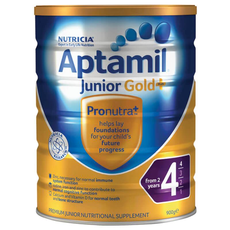 Sữa Aptamil Gold Plus số 4 - 900g