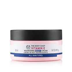 NEW! VITAMIN E NOURISHING NIGHT CREAM