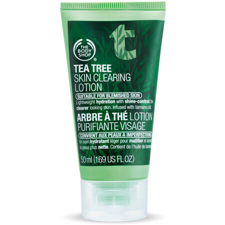 Kem Dưỡng Ngày Tea Tree Skin Clearing Lotion The Body Shop