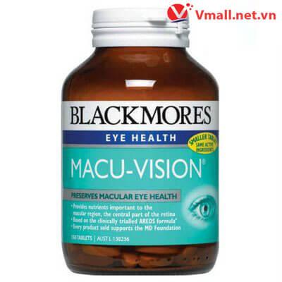 Thuốc bổ mắt Blackmores Macu-Vision 150 viên