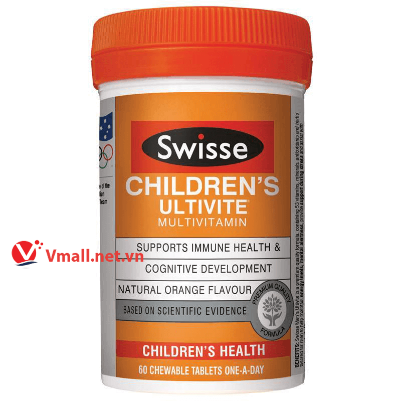 thuốc Swisse Children's Ultivite 120 Tablets
