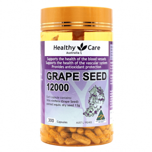 Healthy Care Grape seed Extract 12000 mg