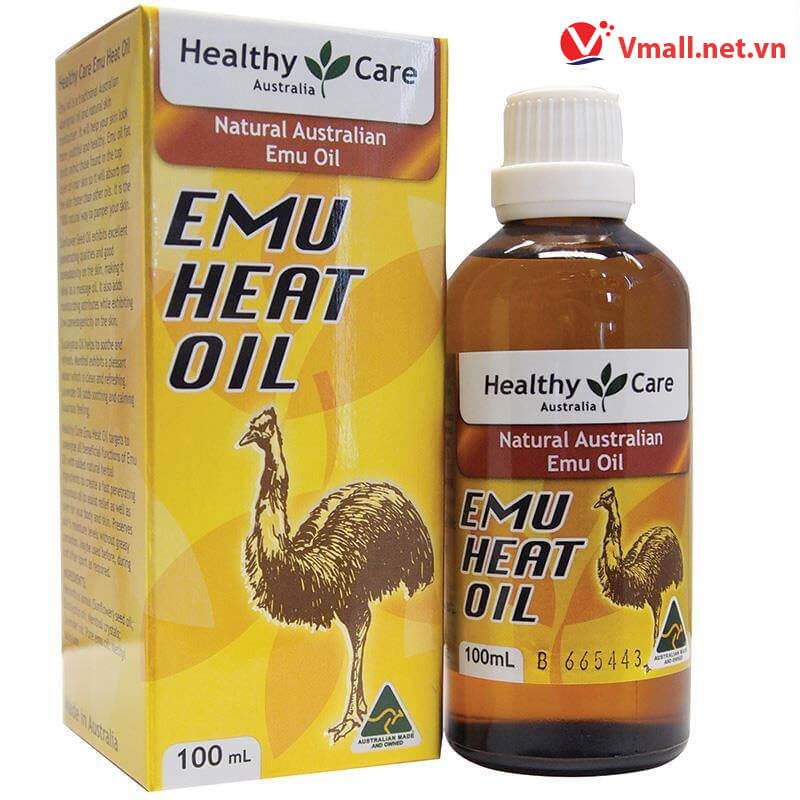 Healthy Care Emu Heat Oil - 100ml