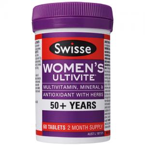 Swisse Women's Ultivite 50+ 90 Tablets