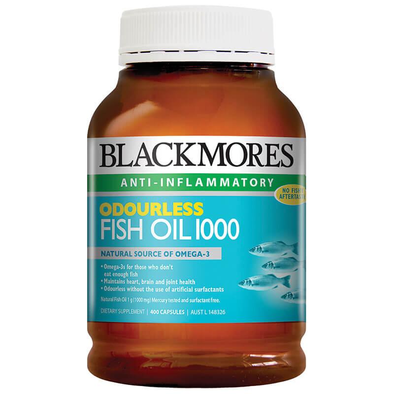 Dầu cá Blackmores Omega 3 Fish Oil 1000mg 400 viên