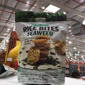 Rice bites seaweed