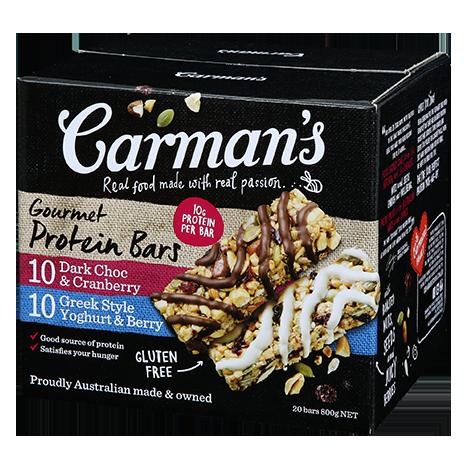 Carman's Gourmet Protein Bars