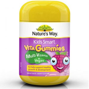 Nature's Way Kids Smart Vita Gummies Multi Vitamin & Vegies 60 Gummies