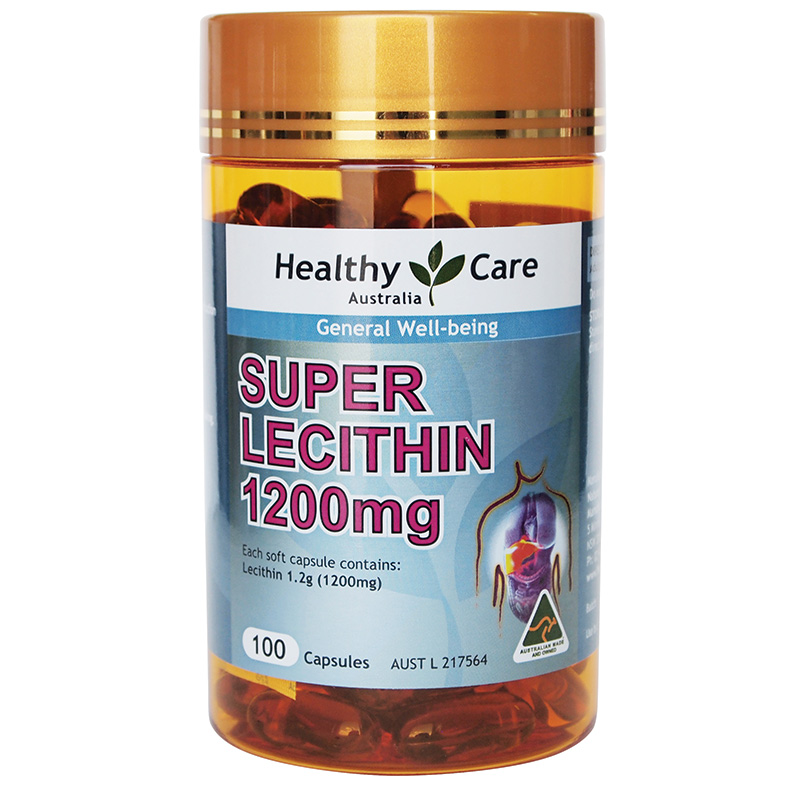 healthy care super lecithin 1200mg