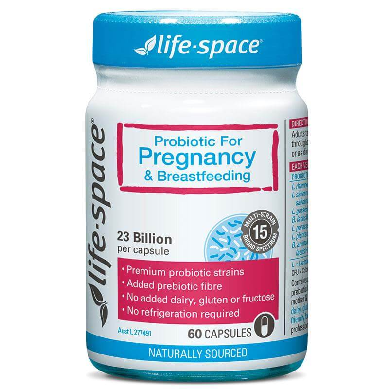 Life Space Pregnancy Probiotic - 60 Capsules