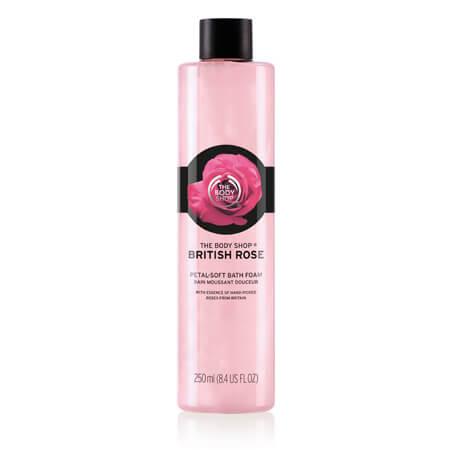 BRITISH ROSE PETAL-SOFT BATH FOAM 250ML