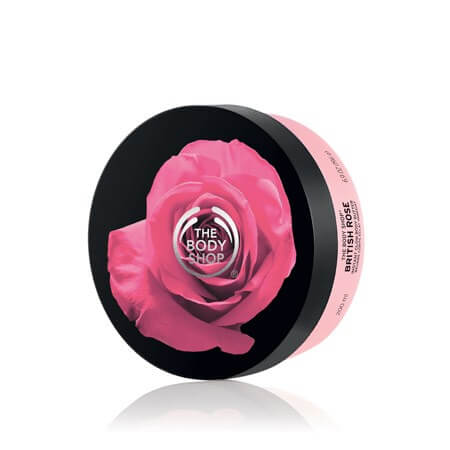 BRITISH ROSE INSTANT GLOW BODY BUTTER 200ML